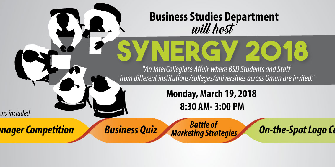 Synergy 2018 | Shinas College of Technology