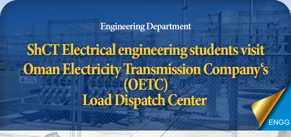 Electrical engineering students visit OETC's load dispatch